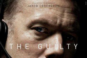 Recorte del Cartel de la película THE GUILTY