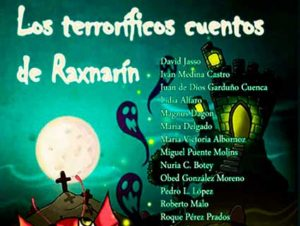 Recorte de Los terroríficos cuentos de Raxnarín